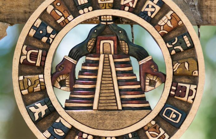 Souvenirs of Maya civilization