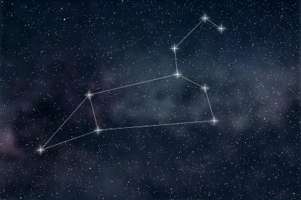 Zodiac Sign Leo constellation lines