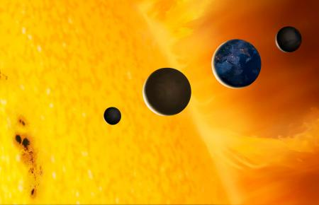 Sun and Terrestrial Planets