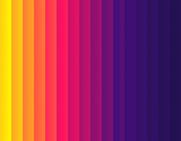 Purple to yellow abstract gradient background