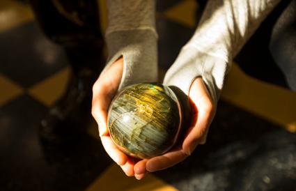 Labradorite Rock Sphere