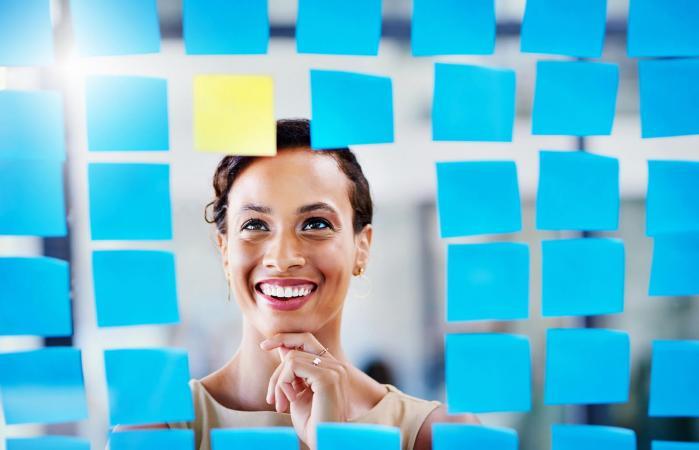 woman considering careers