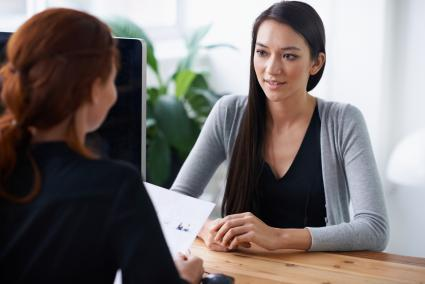 Job interview with Human Resources Manager