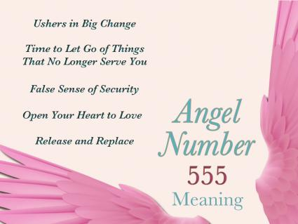 Angel Number 555 Meaning