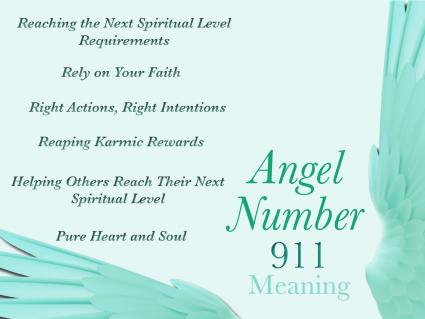 Angel numbers 911 Meaning
