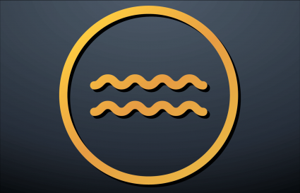 Aquarius symbol
