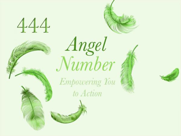 Number Angel 444