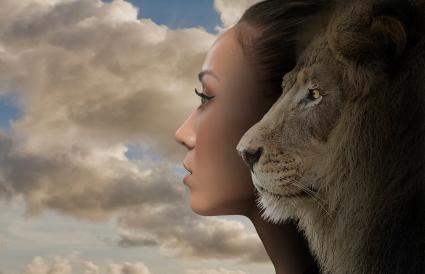 Leo's lion nature