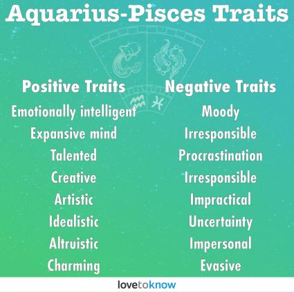Aquarius-Pisces Personality Traits
