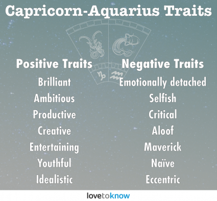 Capricorn-Aquarius Personality Traits