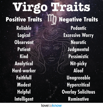 Virgo Traits: Positive and Negative