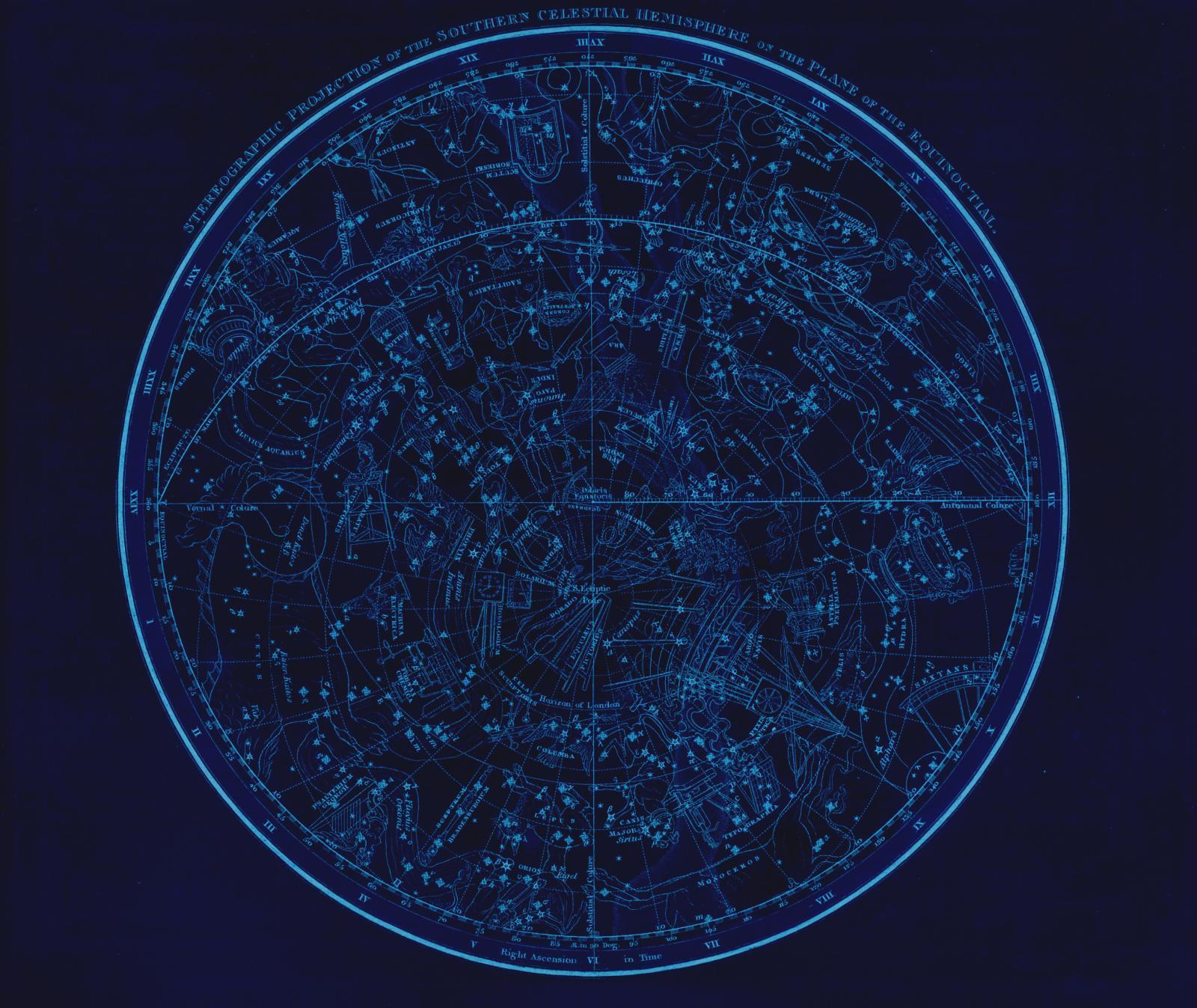 Mapa estelar zodiaco
