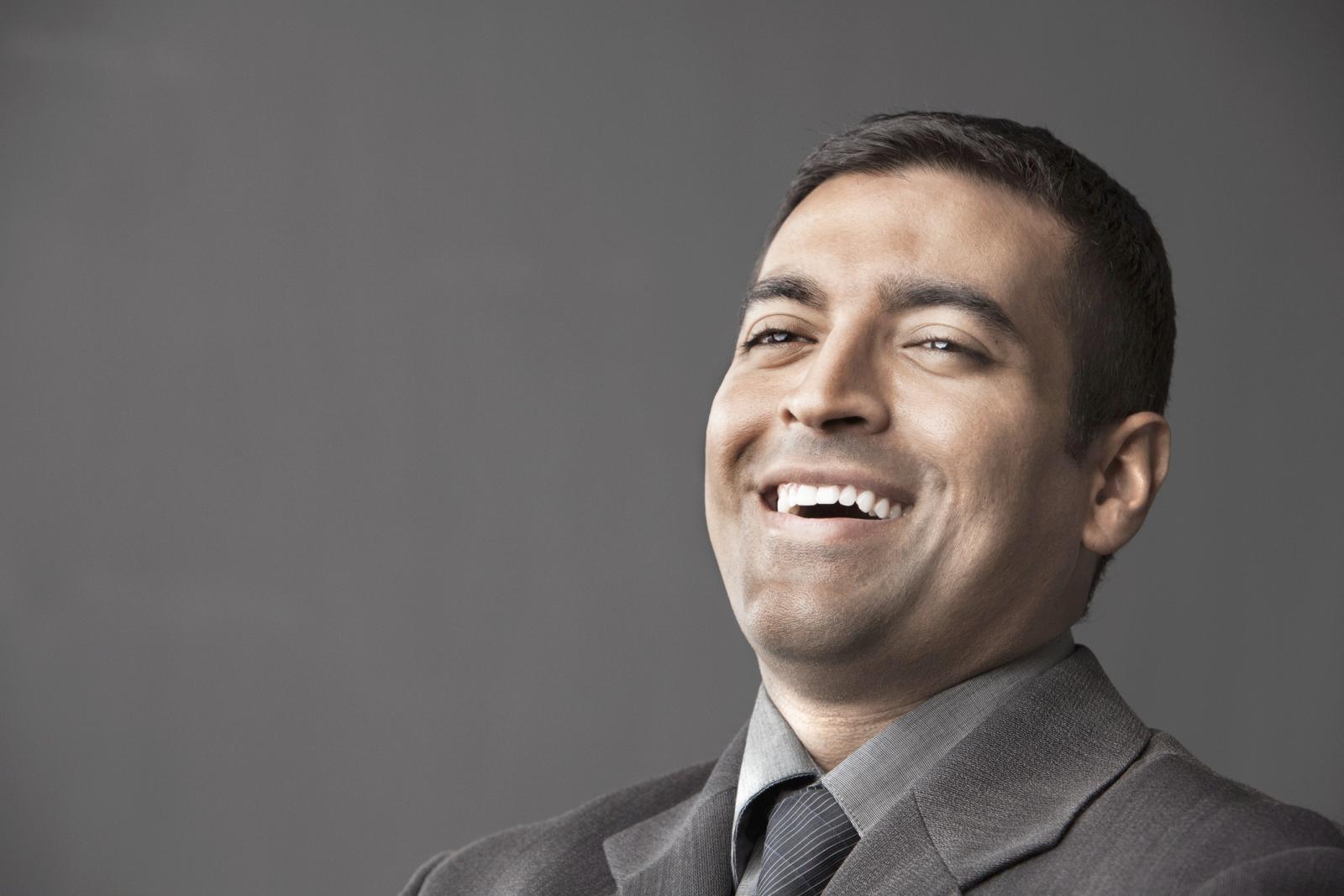 Un hombre Sagitario es primordialmente optimista