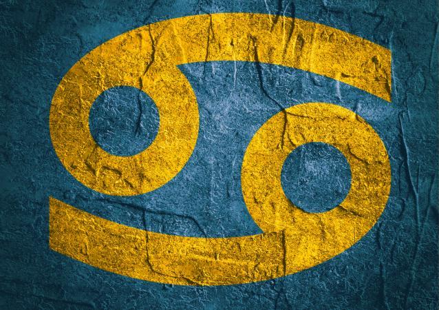 Símbolo del zodiaco para Cáncer