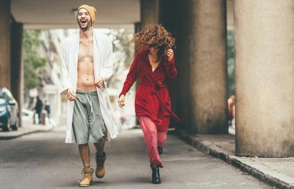 Sagitario y Acuario pueden ser una pareja feliz