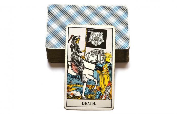 carta de la muerte del tarot