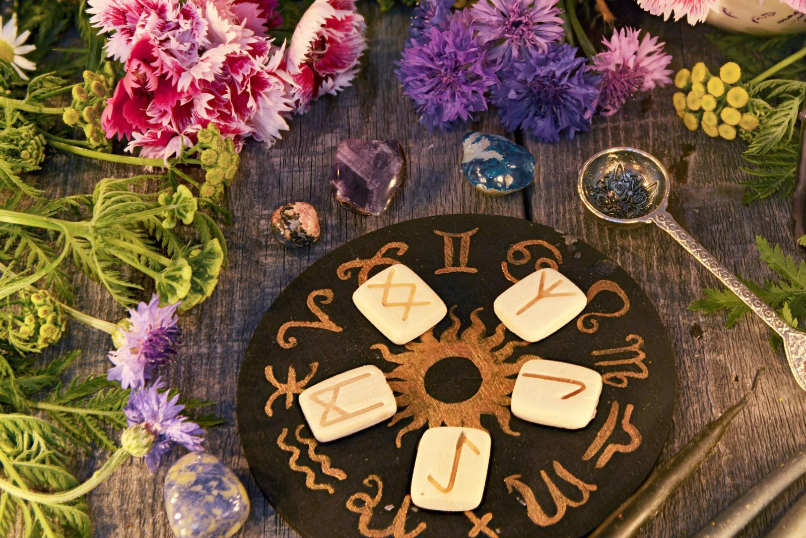Flores y signos del zodiaco