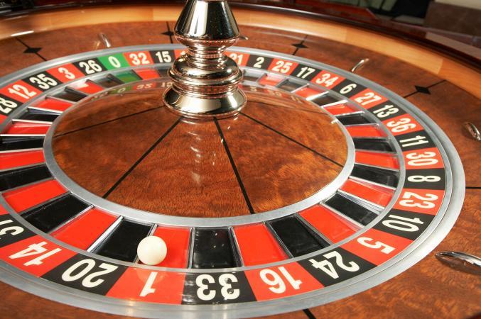 número 1 en el casino de ruleta