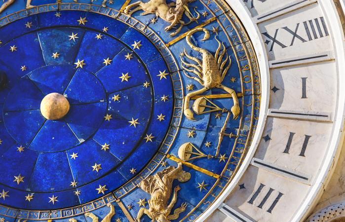 Reloj astronómico en la plaza San Marco