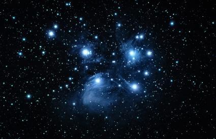Una foto de Messier 45