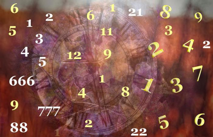 Numerología en el Universo y el tiempo