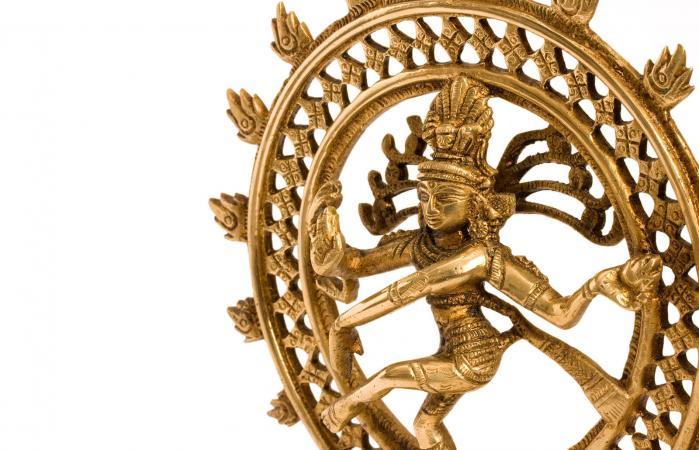 Estatua del dios indio hindú Shiva Nataraja