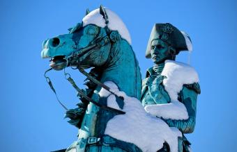 Equestrian Statue of George Washington
