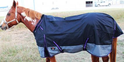 Challenger 1200D Turnout Waterproof Rain Horse Sheet