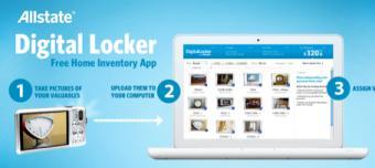 Allstate Digital Locker Home Inventory App
