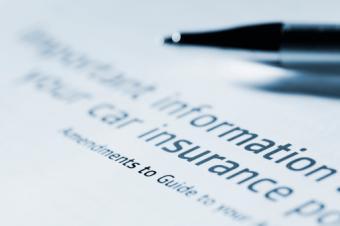 car insurance document
