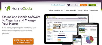 Homezada Home Management Software