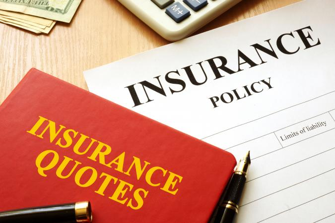 Insurance quotes book