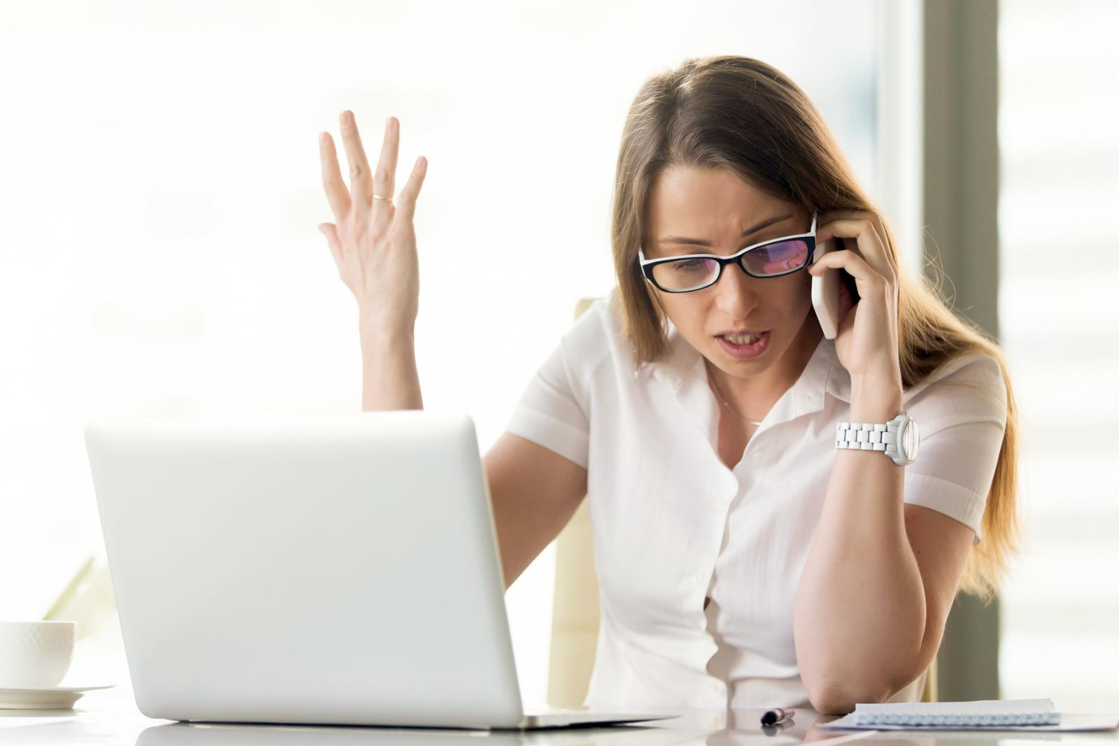 Conflict during phone negotiation
