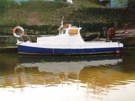Image of a boat on the river