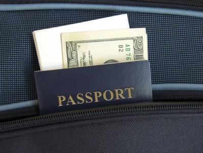 Passport and Cash
