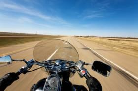 Motorcycles must be insured similarly to cars.