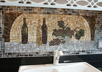 Wine And Grape Themed Kitchen Ideas