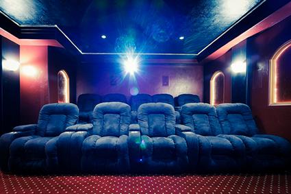home theatre room interior designer