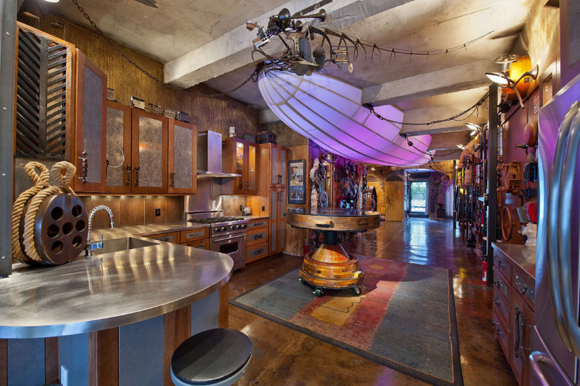 31 Steampunk Decor Pieces To Achieve, Steampunk Living Room