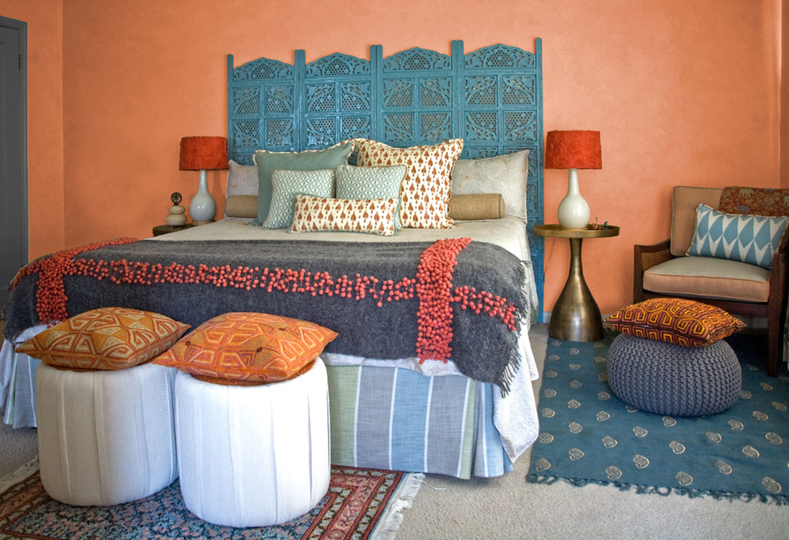 Decorating Your Bedroom With Orange: Ideas & Tips  LoveToKnow