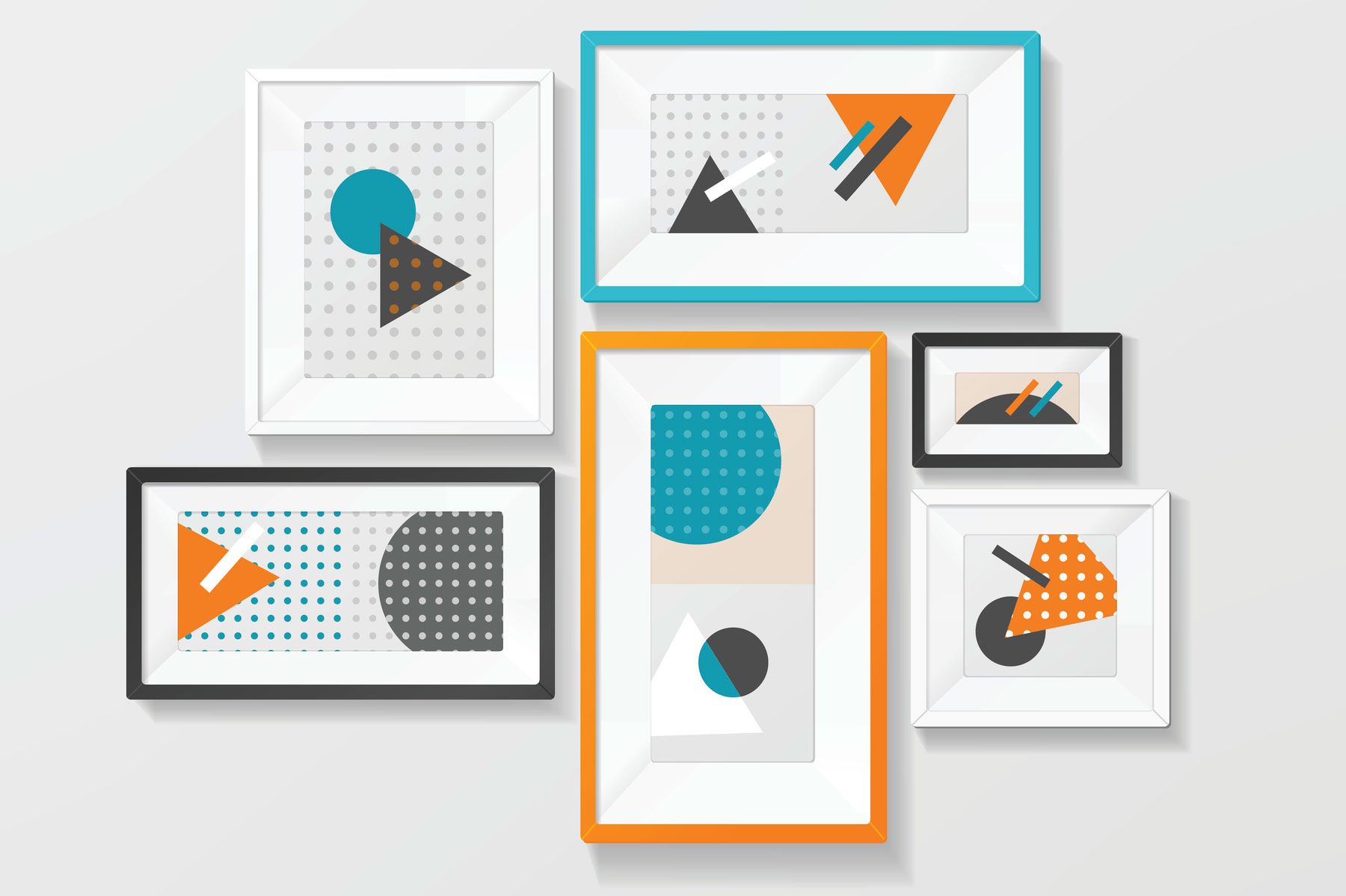 Arranging and grouping wall pictures lovetoknow jeuxipadfo Image collections