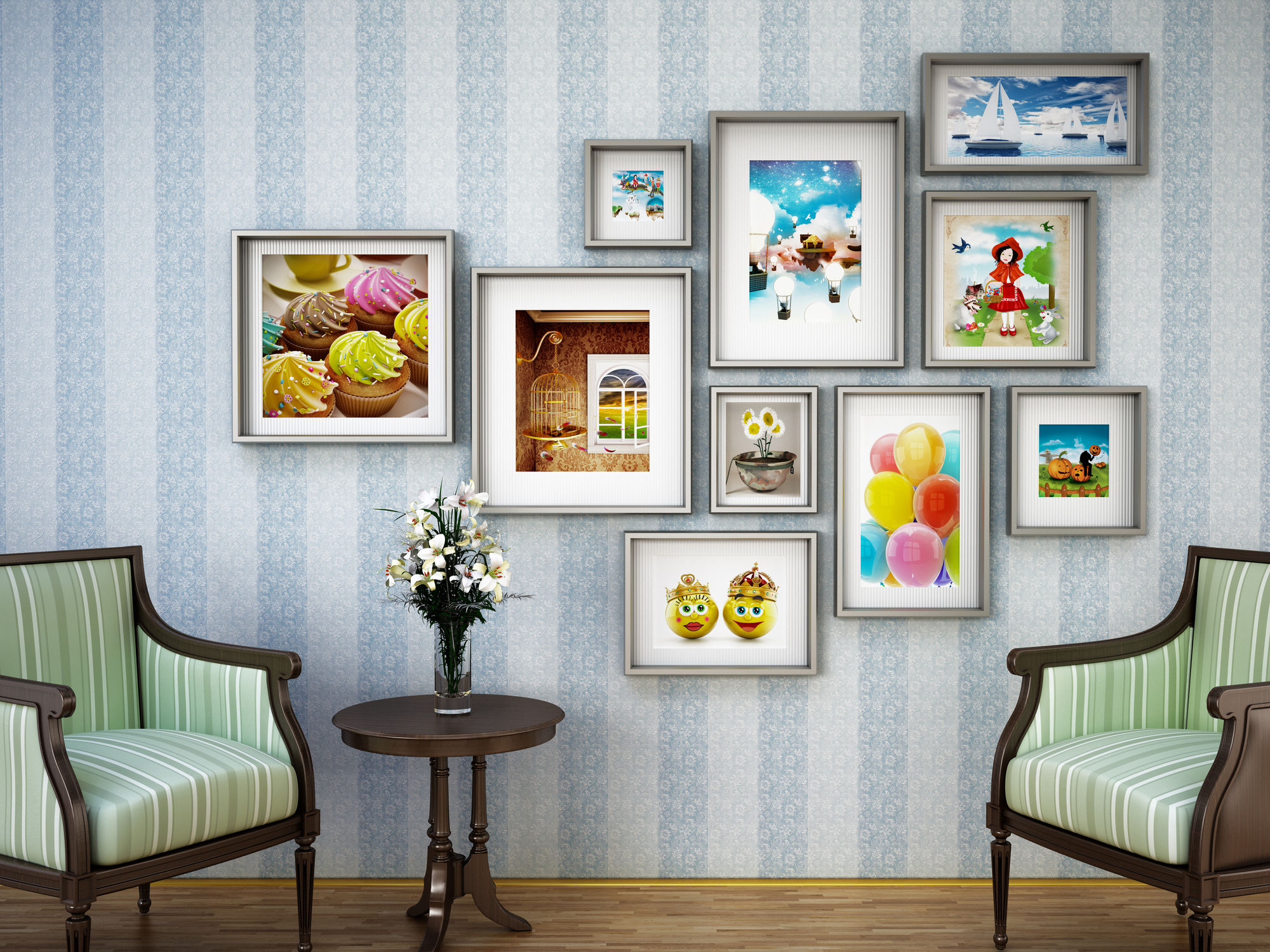 Does each wall need a picture hanging on it lovetoknow jeuxipadfo Choice Image