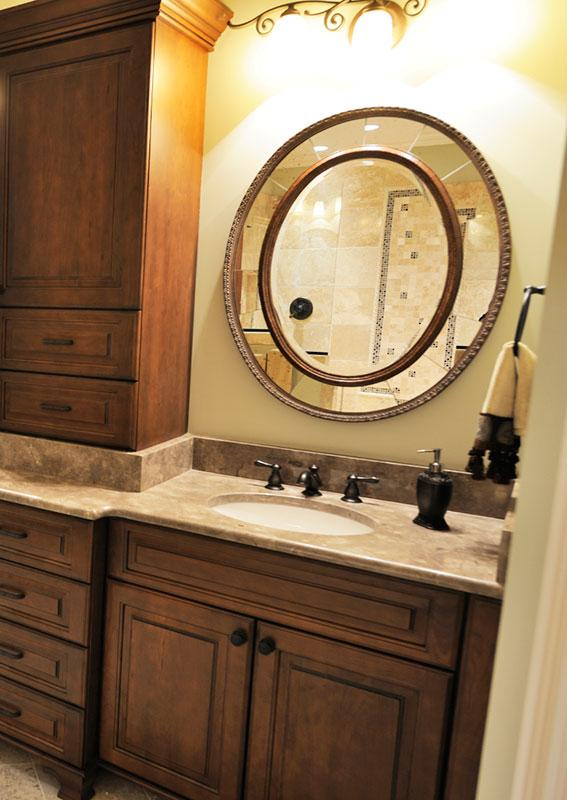 mirrors bathrooms circular makeup a art circle size vanity large bathroom blog round of mirror wall