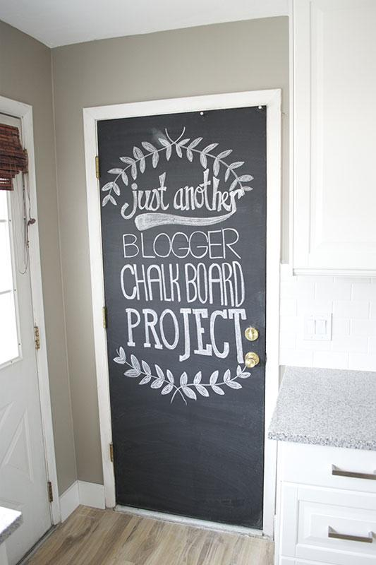 chalkboard door & Cool Ways to Paint Doors | LoveToKnow