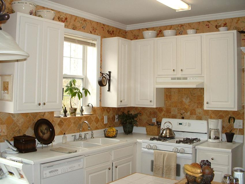 simple decorating above kitchen cabinets ideas for decorating above kitchen cabinets slideshow 120