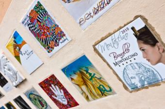 Stamp wall art