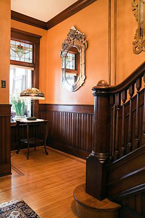 Victorian entryway