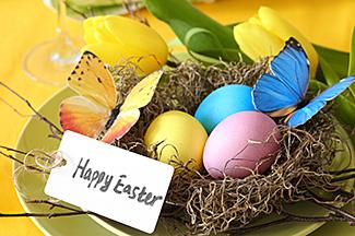 Easter card holder