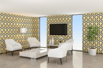 Retro Mod room design