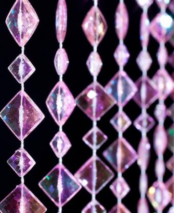 Bead curtain from ShopWildThings.com